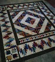 Best 25+ Log cabin quilts ideas on Pinterest | Log cabin quilt ... & Quilting Board member Podunk Princess's Retreat Project Completed - Bear  Mountain Cabin by Glad Creations Adamdwight.com