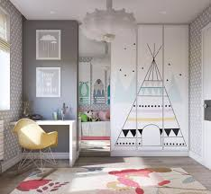 Kids Room Design: Mauve Accent Wall - Cute Girl Room Interiors