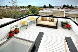 roof deck furniture. Roof Deck Furniture Design Patio Modern With View Metal Side Tables And End Sky Light Rooftop K