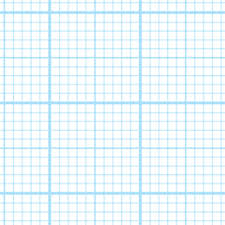 Graph Paper One Inch With Quarter Inch Markings Standard Graph