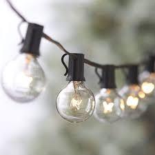 Big Bulb String Lights Globe Festoon String Light Bulb 27ft G40 Indoor Outside Waterproof Lixada