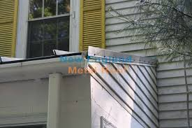 standing seam roof securing gable trim with steel s