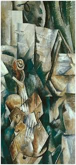 violin and palette georges braque 1909 guggenheim museum