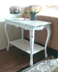 distressed white end tables image 0 white distressed dining table diy distressed white end tables