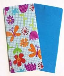 Set Of 2 Book Covers Jumbo Size Graph Paper Doodles Set