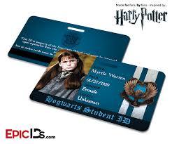 Harry Potter Inspired Hogwarts Student ID (Ravenclaw) - Myrtle Warren -  Epic IDs