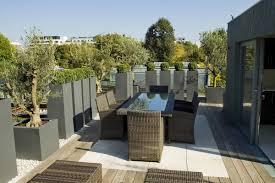 Philippines house roof deck roof garden Floor Elegant Terrace Roof Eith Rattan Chair And Glass Table Idea Princegeorgesorg Elegant Terrace Roof Eith Rattan Chair And Glass Table Idea Outdoor
