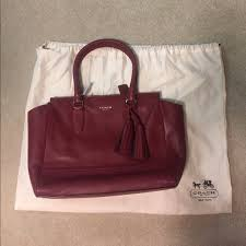 Coach Legacy Leather Medium Candace Carryall Tote