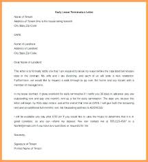 Terminate A Lease Letter Termination Lease Letter Dew Drops