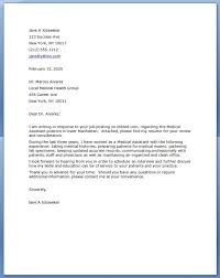 Medical Assistant Cover Letter Resume Downloads.