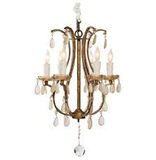 fursdone ivory crystal french antique light gold chandelier 6251