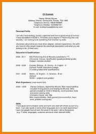 Resume Profile Statement For Human Resources Student