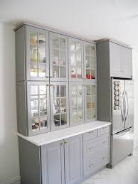 ikea cabinets kitchen effective glass front