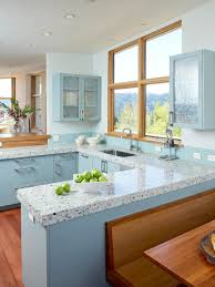 Light Blue Kitchen 30 Colorful Kitchen Design Ideas From Hgtv Hgtv