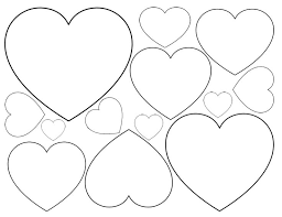 Small Picture The 25 best Heart template ideas on Pinterest Printable hearts