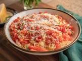 angel hair pasta with fresh tomato sauce