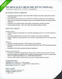 Resumes For Fast Food Worker Inspirational Food Service Resumes