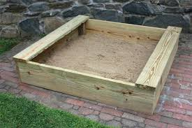 how to build a sandbox with seats cover instructions
