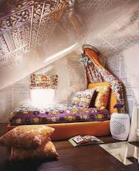 Small Attic Bedrooms Attic Bedroom With A Hippie Vibe Hippie Boho Chic Style