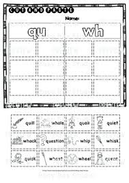 Phonics is a method of teaching kids to learn to read by helping them to match the sounds of letters, and groups of letters, to distinguish words. Qu Phonogram Worksheets Printable Worksheets And Activities For Teachers Parents Tutors And Homeschool Families