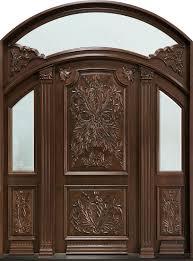 Front Doors Impressive Contemporary Wood Front Door For Modern Solid Wood Contemporary Front Doors Uk