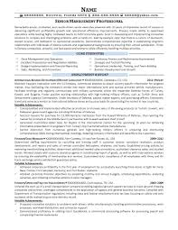 Military Trainer Cover Letter Resume Examples Infantry To Civilian
