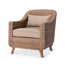 Mayhew All Weather Wicker Patio Club Chair Threshold™ Tar
