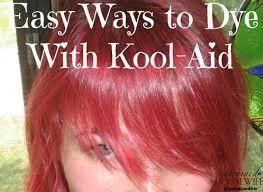 easy ways to dye with kool aid
