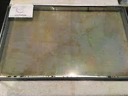 ge stove oven range inner door glass