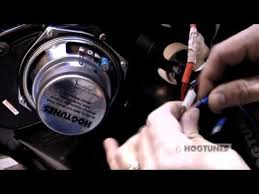 hogtunes road glide® amplifier installation