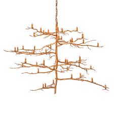 Branch Chandelier 2125 V Vertical Branch Chandelier Paul Ferrante