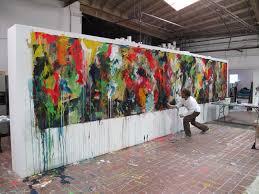 large wall paintingslarge wall painting 2  Daniel Maltzman Studio