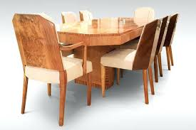 art deco dining room chairs art dining table chairs and carvers attributed to art deco round