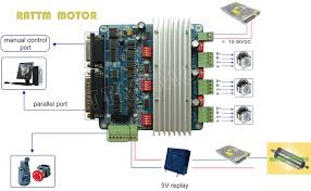 3 axis cnc controller tb6560 stepper motor driver board h type 3h jpg