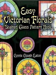 Stained Glass Pattern Books Interesting Easy Victorian Florals Stained Glass Pattern Book Dover Pictorial