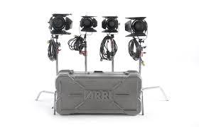 Arri 4 Light Kit Arri Bag Fresnel 2 650 Y 2 300 4 Lights For Sale Used