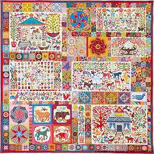 Pandemonium from Glorious Color. Kaffe Fassett Collective fabrics ... & Kim McLean's Pandemonium Quilt Adamdwight.com
