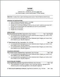 Chronological Resume Template Extraordinary Chronological Resume Template Resume Format Downloadable