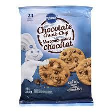 pillsbury cookies. Unique Cookies Pillsbury Ready To Bake Chocolate Chunk And Chip Cookies  Walmart Canada On