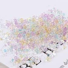 <b>10g</b>/<b>Pack Mini Bubble ball</b> beads 0.4 3mm mixed tiny beads for ...