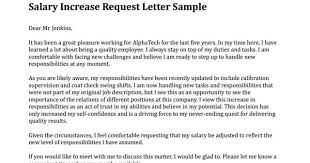 pay raise letter samples how write a pay raise letter salary increase sample smart template