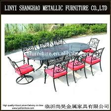 surprising painting cast aluminum patio furniture image of top outdoor
