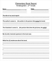 Free Book Report Templates | Trattorialeondoro