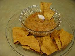 y chips and bean dip finally an hmr party food you can feel good about
