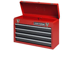 Craftsman 6 Drawer Rolling Cabinet Craftsman Tool Storage With Free Shipping Sears