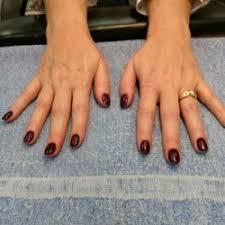 photo of regal nails ankeny ia united states beautiful and bold maroon
