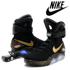 nike air mags. 2016 nike air mag shoes led mens basketball fashion running luxury grey size 8 12 factory_store01 new arr stability mags g