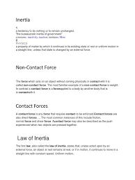 law of inertia formula. law of inertia formula 2