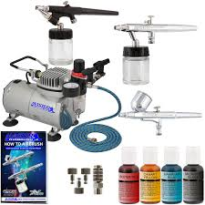 Multi Purpose Craft Supplies Including 4 X Airbrush Colours