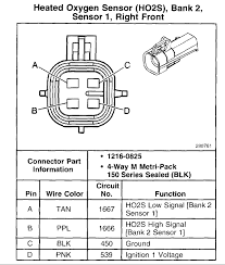 o2 sensor wiring has me stumped ls1tech camaro and firebird 4 wire o2 sensor test at 4 Wire Oxygen Sensor Wiring Diagram